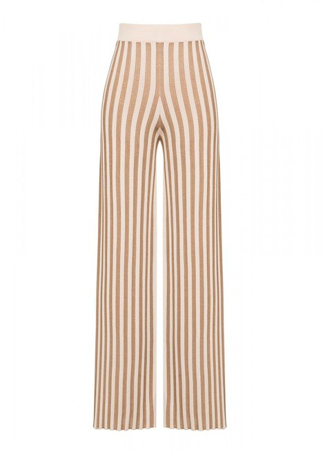 STRIPED BEIGE PANT
