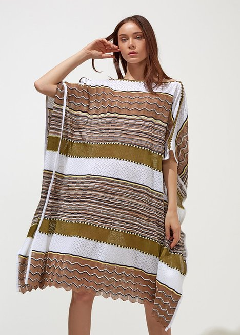 Oversized Herb Green Knit Dress