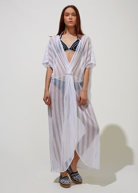 Cover Up White Beach Dress
