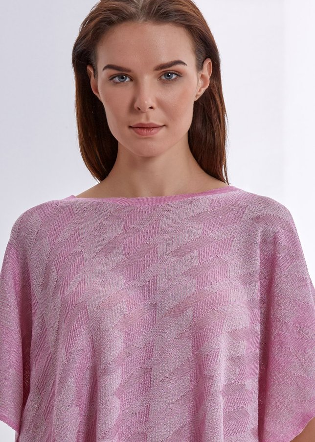 Pink Comfortable Knit Top